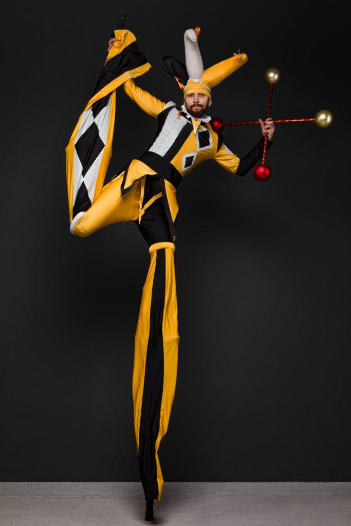 ходулист желтый джокер