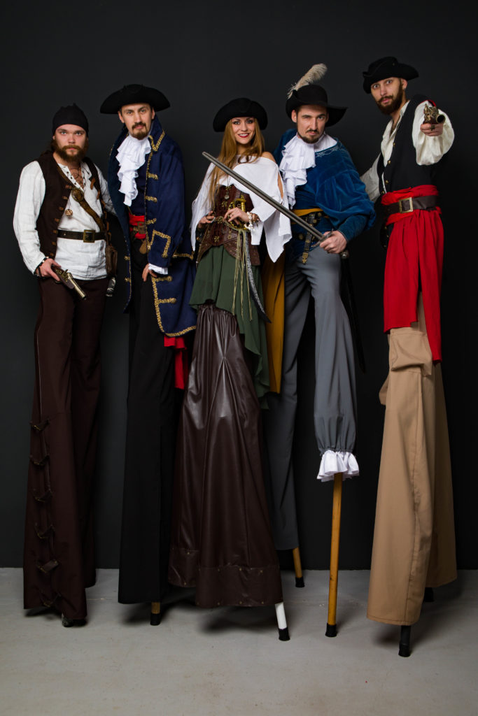 ходулисты пираты
