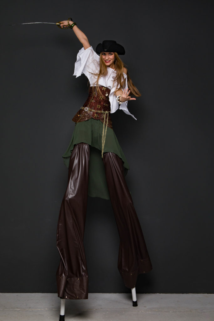 ходулистка пиратка